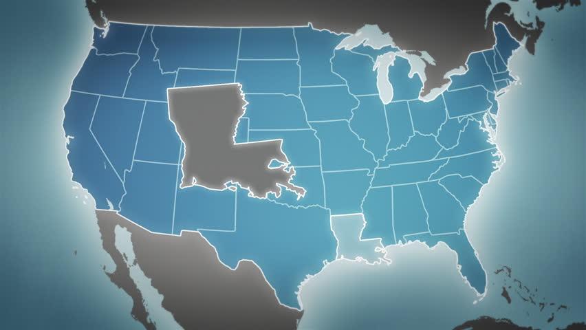 D Map Usa Stock Footage Video Shutterstock - Us 3d map