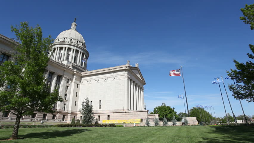 Oklahoma Capitol Building. The Oklahoma State Capitol is located in Oklahoma City.