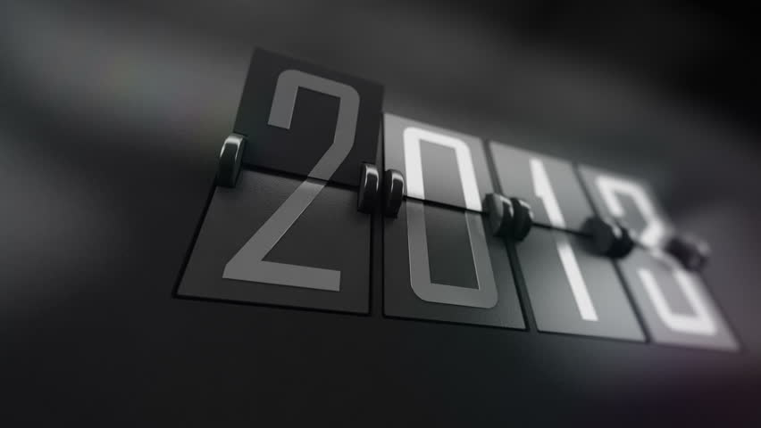 New Year 2014 Calendar with flipping pages. Calendar turning page from year 2013 to 2014 | Shutterstock HD Video #4954028