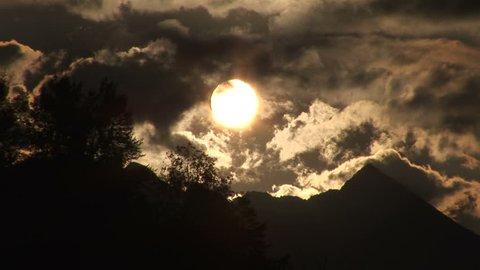 Mondschein Berninapass Schweiz