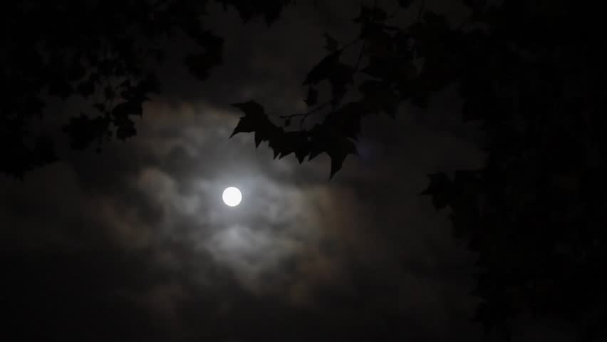 stock video of full moon amp cloudy sky 4972688