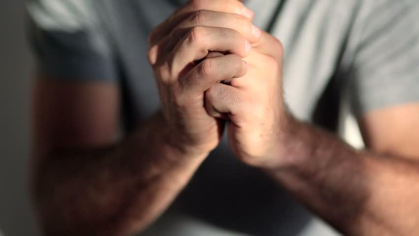 Hand gestures - praying