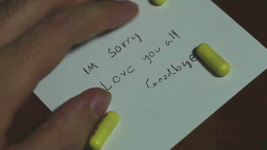 My boyfriends suicide note - image #1134672 by nastty on ... |Love Suicide Note
