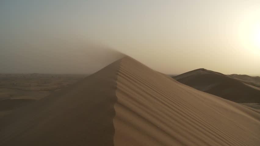 abu dhabi desert footage stock clips