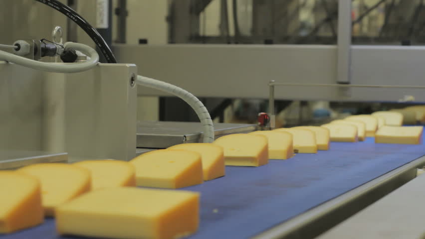 Cheese Factory - Assembly line