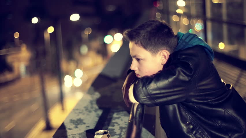 Sad Boy Looking At A City Street Lighting Night Lights Stock Footage Video 5090528 | Shutterstock  sc 1 st  Shutterstock & Sad Boy Looking At A City Street Lighting Night Lights Stock ... azcodes.com
