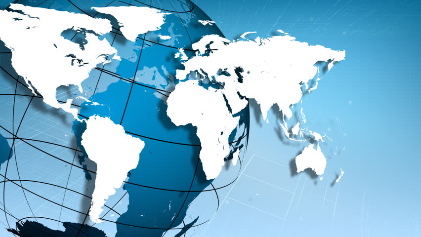 3d Globe Stock Footage Video 100 Royalty Free 509848