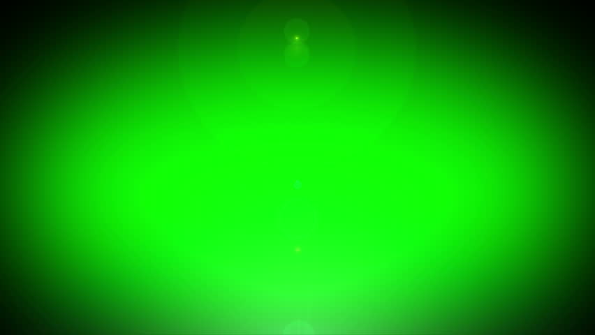 Light Animation Effect For Logo On Green Screen Lens