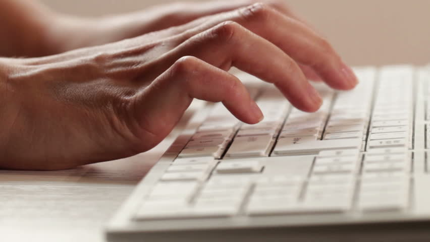 Woman typing on a keyboard | Shutterstock HD Video #5130818