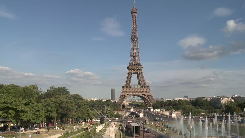PARIS, FRANCE - 2010: Eiffel Tower   Shutterstock HD Video #5135138