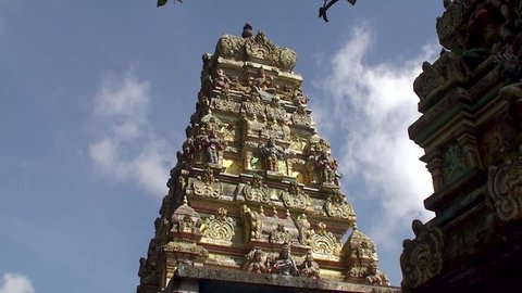 Seetha Amman Hindu Temple. Seetha Eliya, Sri Lanka.