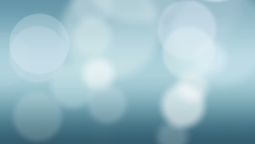 Loopable blue abstract background with soft circles floating slowly