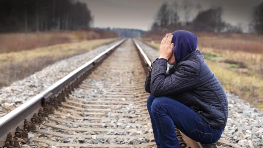 Image result for depressed boy