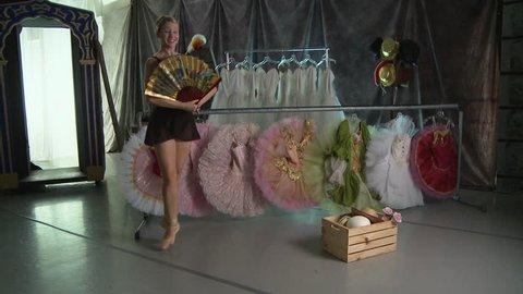 Backstage Ballet