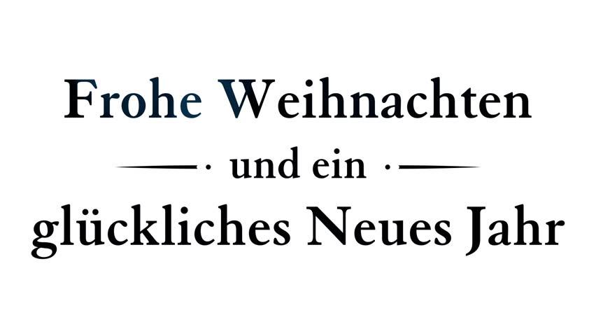 merry christmas and happy new year in german wunsche frohe weihnachten und ein gluckliches neues jahr deutsch animated greeting card in red elegant