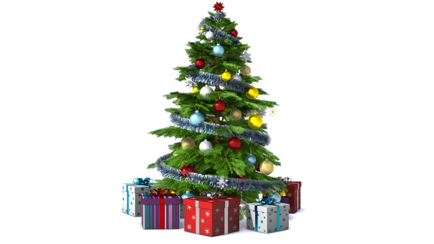rotating christmas tree with alpha loopable stock footage video 5206148 shutterstock - Mr Christmas Tree