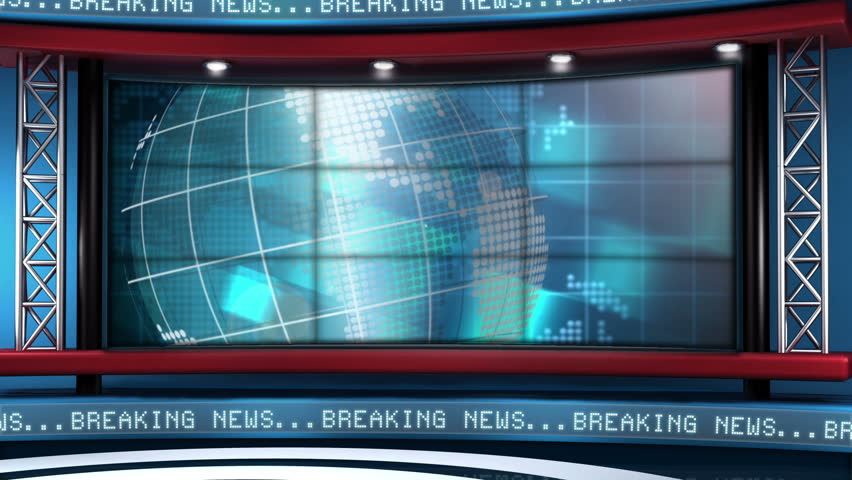 This looping news set is the perfect backdrop for any green screen or chroma key video production.  It features a  clean and modern layout with subtle animation and imagery. | Shutterstock HD Video #5317145