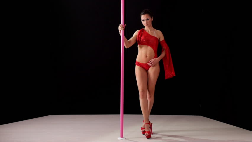 dancing Female strippers pole