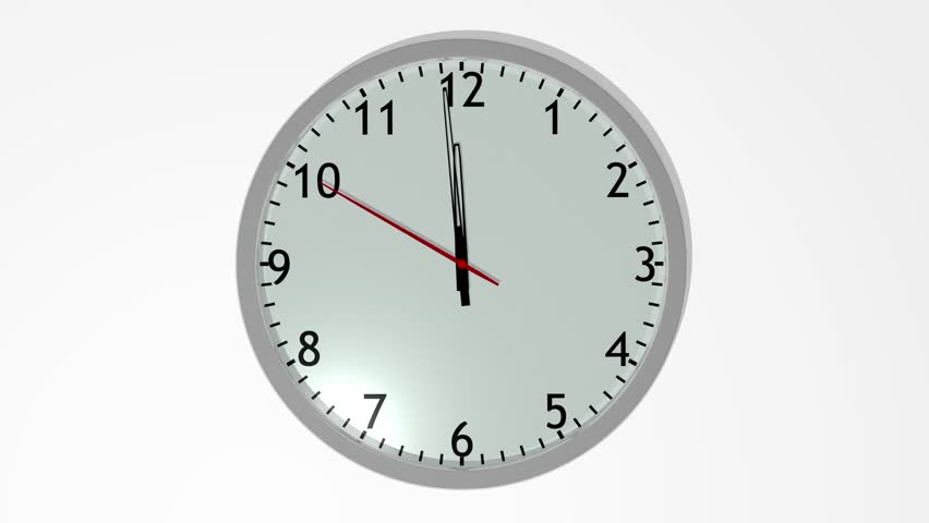 moving clock animation. 3d animated clock striking exactly 12u0027o stock footage video 5379248 shutterstock moving animation