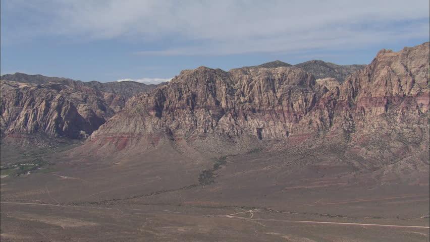 Las Vegas Desert Mountains. Aerial footage of the mountains and the desert surrounding Las Vegas. | Shutterstock HD Video #5475758