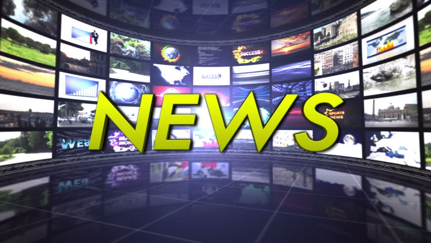 News Text in Monitors Room, Loop | Shutterstock HD Video #5487548