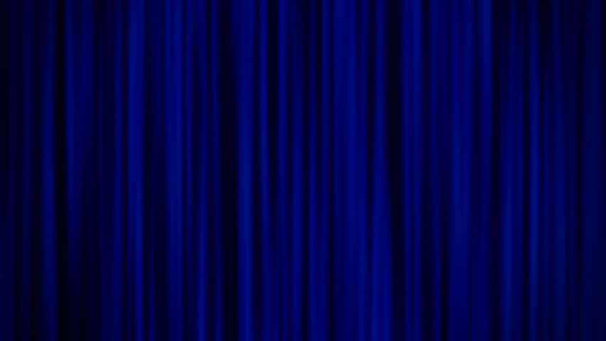 Blue Curtains Stock Footage Video 5569088 | Shutterstock