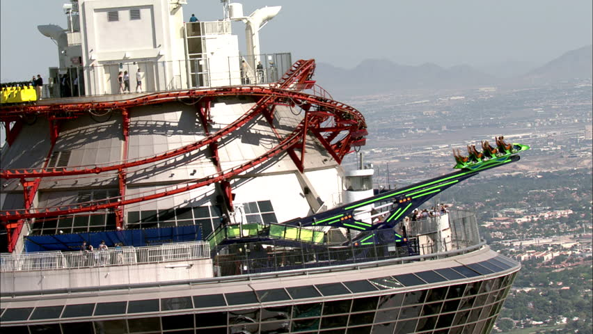 Gemeinsame Stratosphere Hotel Stock Video Footage - 4K and HD Video Clips @LF_63