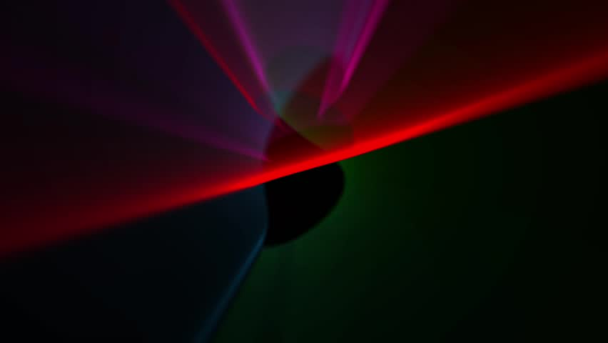 Abstract blur spots are moving on black background   Shutterstock HD Video #5607308