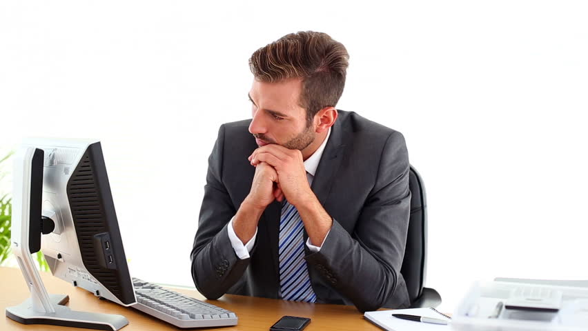 Image result for worried businessman