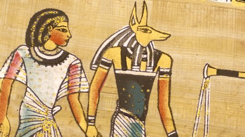 Ancient Egyptian themed background montage
