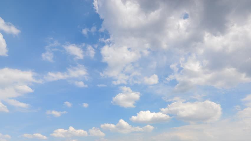 4K. Timelapse rolling clouds - ULTRA HD, 4096x2304