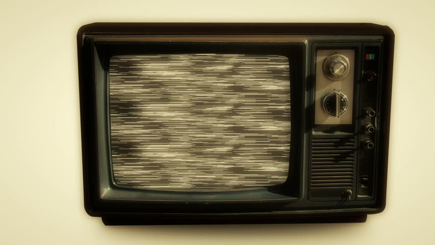 Old TV screen effects zoom in | Shutterstock HD Video #5750798