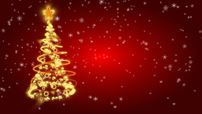 Christmas Tree With Light On Stock Footage Video 100 Royalty Free 577198 Shutterstock