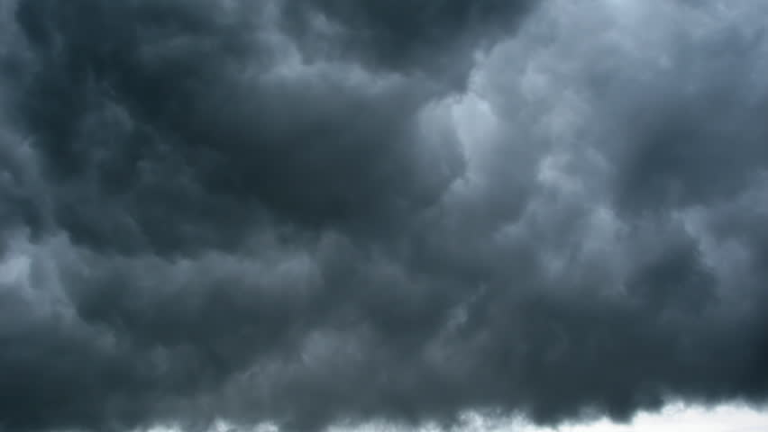 rain cloud, a dramatic backdrop, timelapse