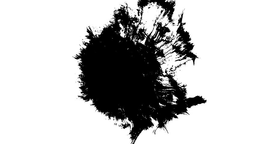 Ink bleed - 4k res - Great for compositing effects and titling
