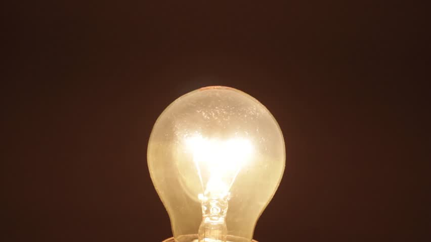 Light bulb - turn off