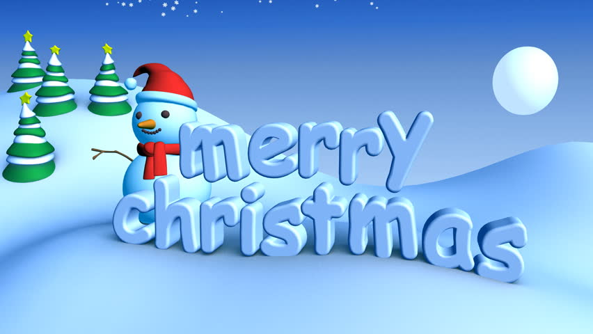 Animated Christmas Video Clips Free Download