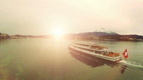 bout tour trip. traveling. swiss switzerland tourism. lake view sunset. 1920x1080