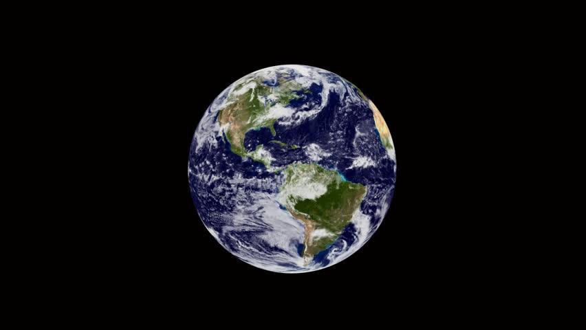 Earth Zoom Stock Footage Video - Shutterstock