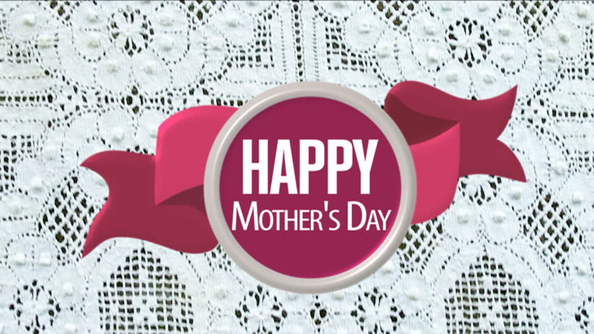 Happy Mother's Day card animated.
