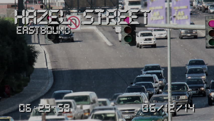 A Simulated Traffic Camera  Stock Footage Video (100% Royalty-free) 5950478  | Shutterstock