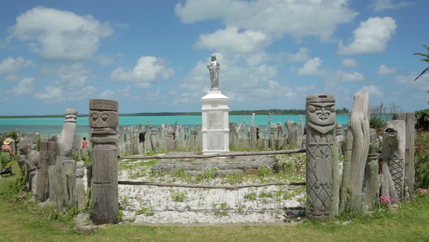 St Maurice Bay Wood Carving. The Statue Of St Maurice Celebrates ...