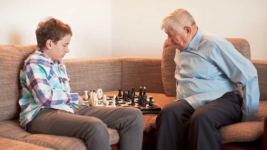 Bestefar Tenåringsporno
