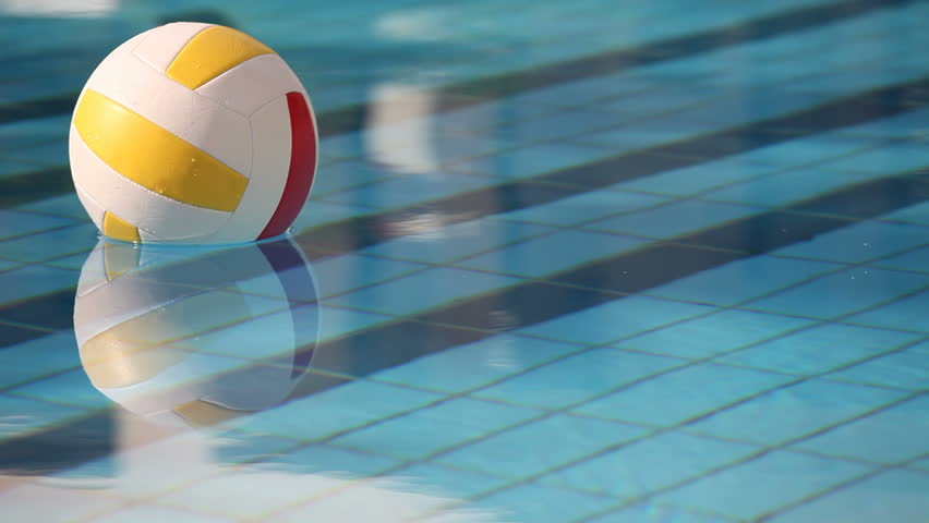 Volleyball in Swimming Pool Stock Footage Video (100% Royalty-free) 611428  | Shutterstock