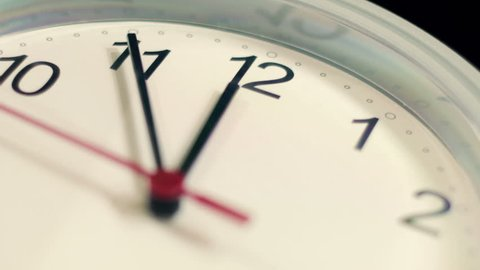 macro - hyperlapse of a clock - timelapse