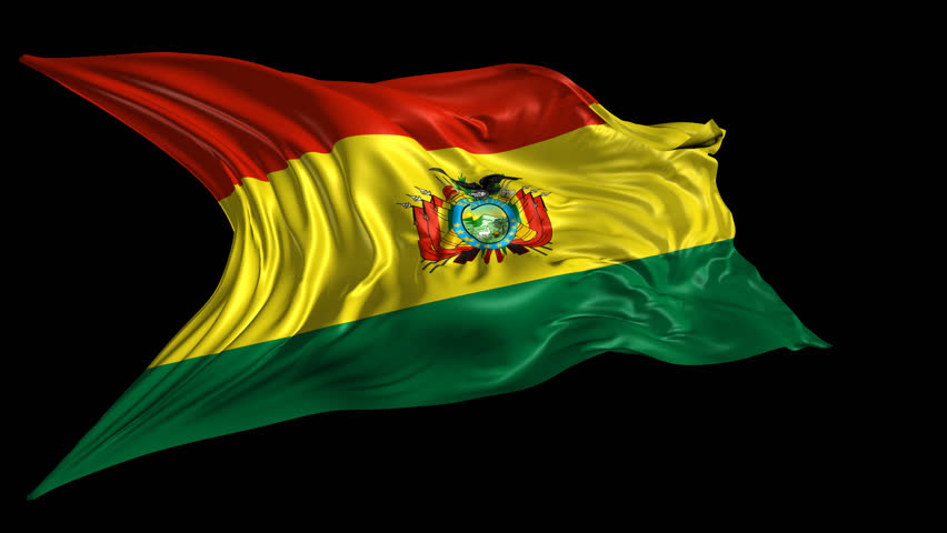 Flag of biafra 3d animation of the old biafra flag with alpha flag of bolivia beautiful 3d animation of bolivia flag with alpha channel in 4k resolution thecheapjerseys Image collections