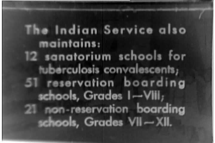 A silent 1933 documentary survey of integration programs for Native  Americans including Protestant mission churches,