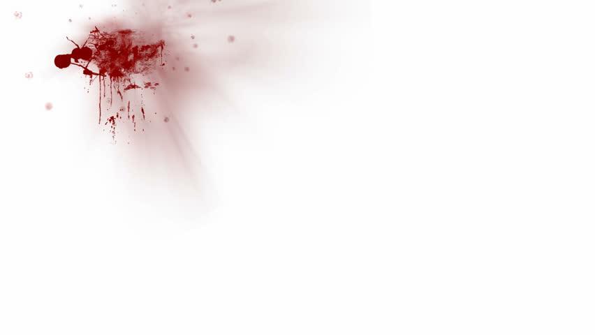 Blood splatters HD 1080p
