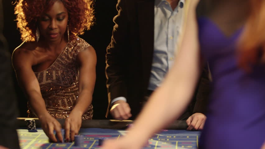 Players in the Casino eagerly gamble and play in the Casino | Shutterstock HD Video #6441218