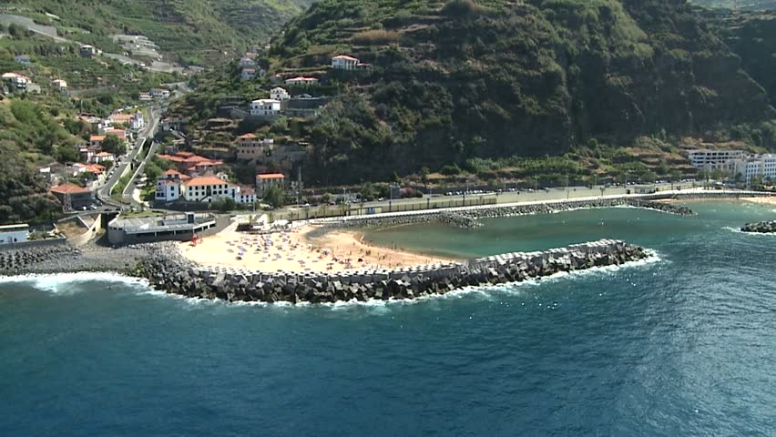 Aerial view on Madeira island - PORTUGAL    Shutterstock HD Video #6468638